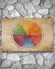 Social Worker Emotions Wheel 17x11 Poster aos-poster-landscape-17x11-lifestyle-13