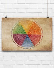 Social Worker Emotions Wheel 17x11 Poster aos-poster-landscape-17x11-lifestyle-17