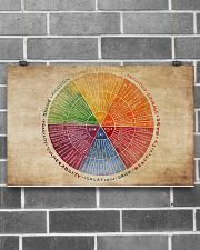 Social Worker Emotions Wheel 17x11 Poster poster-landscape-17x11-lifestyle-18