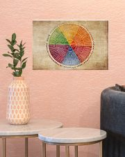 Social Worker Emotions Wheel 17x11 Poster poster-landscape-17x11-lifestyle-21