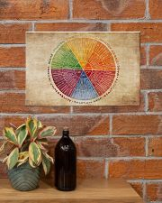 Social Worker Emotions Wheel 17x11 Poster poster-landscape-17x11-lifestyle-23