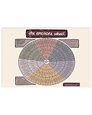 Social Worker The Emotions Wheel 24x16 Poster front