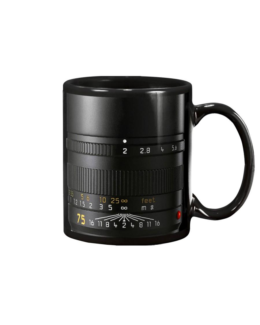 Photographer White And Yellow Numbers Mug
