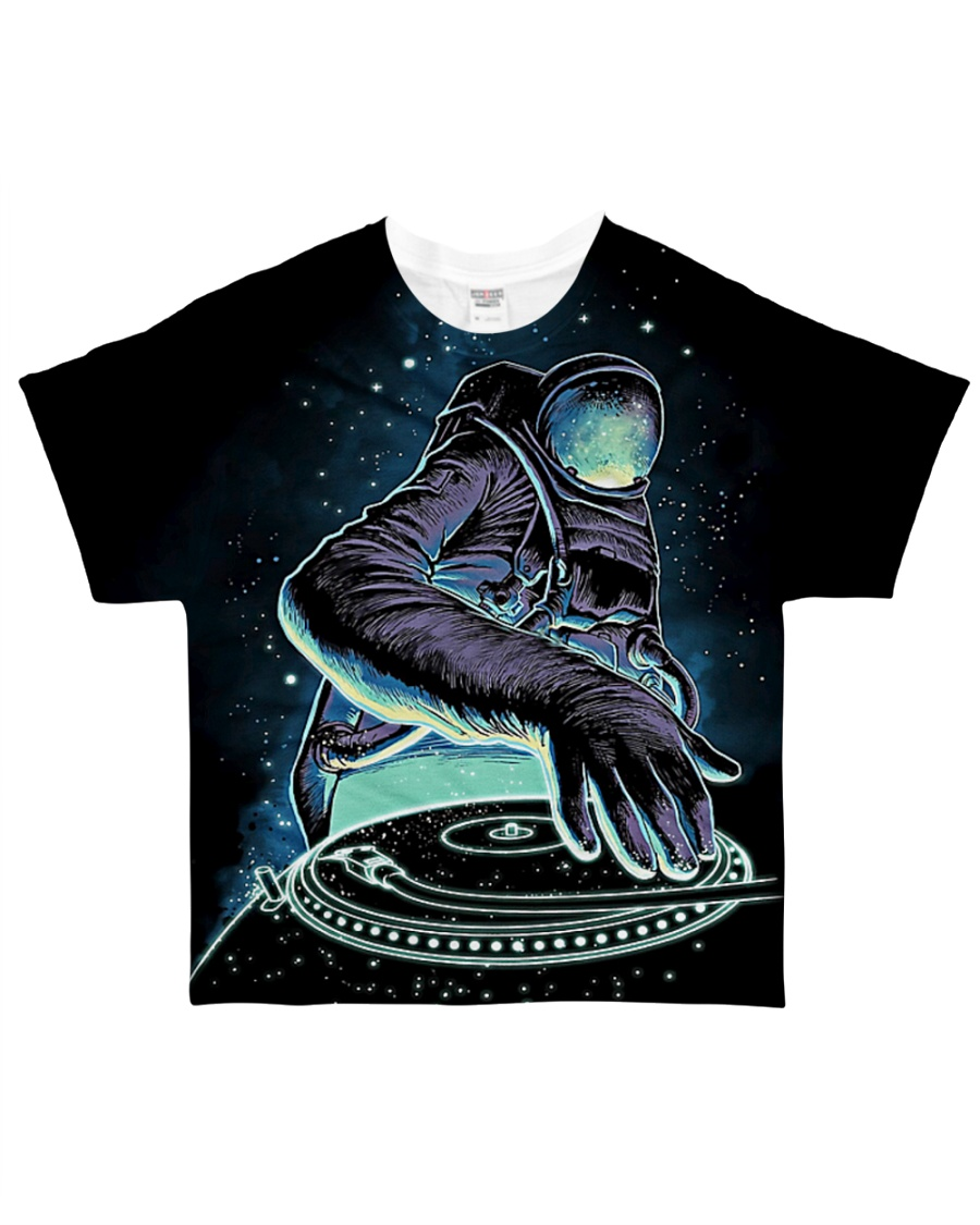 DJ Outer Space All-over T-Shirt