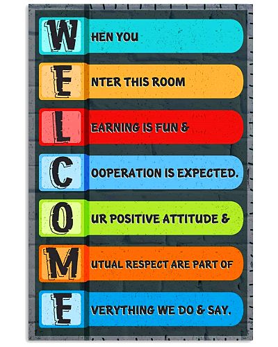 Teacher Welcome Classroom