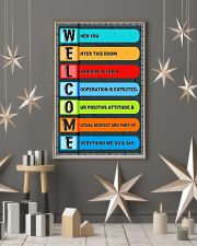 Teacher Welcome Classroom 11x17 Poster lifestyle-holiday-poster-1