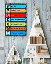 Teacher Welcome Classroom 11x17 Poster lifestyle-holiday-poster-2
