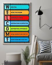 Teacher Welcome Classroom 11x17 Poster lifestyle-poster-1