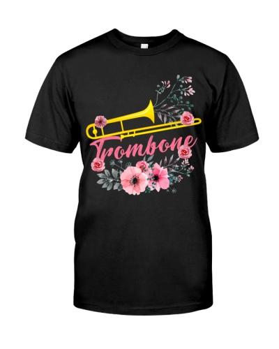 Trombonist Trombone Flowery