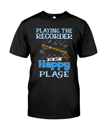 Playing Recorder is my happy place