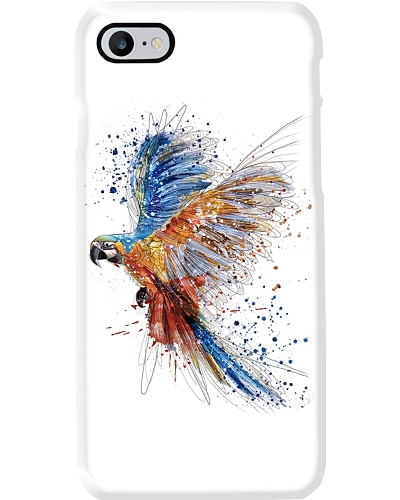 Flying Parrot Phonecase