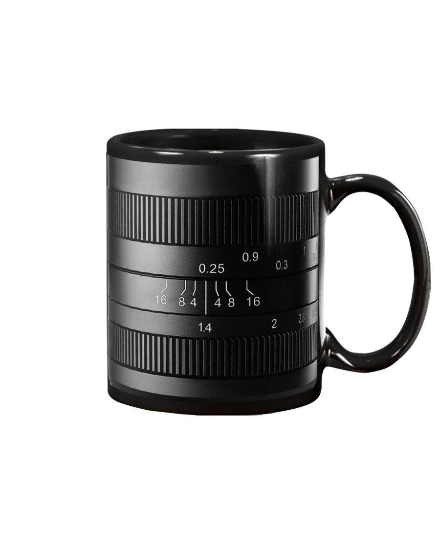 Photographer Yellow Line Camera Mug
