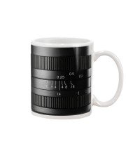 Photographer Yellow Line Camera Mug tile