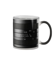 Photographer Yellow Line Camera Color Changing Mug thumbnail