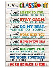 Teacher We Work Together 11x17 Poster front