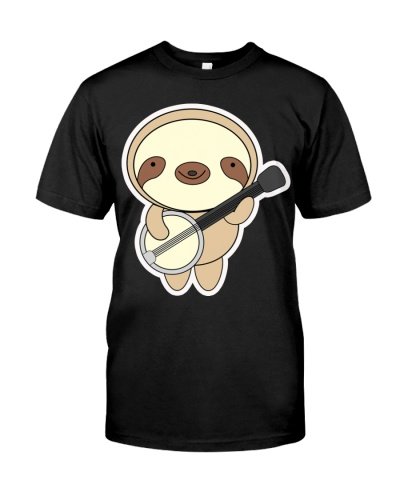 Sloth With Banjo