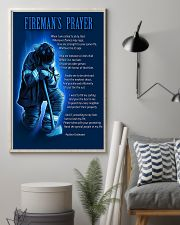 Firefighter's Prayer 11x17 Poster lifestyle-poster-1