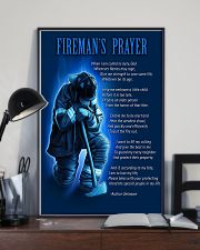 Firefighter's Prayer 11x17 Poster lifestyle-poster-2