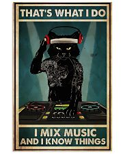 DJ - I Mix Music And I Know Things 11x17 Poster front