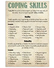 Social Worker Coping Skills 11x17 Poster front