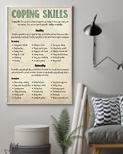 Social Worker Coping Skills 11x17 Poster lifestyle-poster-1