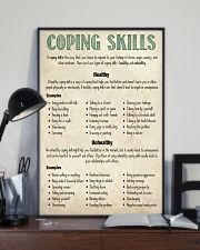 Social Worker Coping Skills 11x17 Poster lifestyle-poster-2