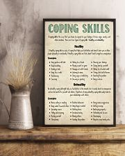 Social Worker Coping Skills 11x17 Poster lifestyle-poster-3
