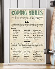 Social Worker Coping Skills 11x17 Poster lifestyle-poster-4
