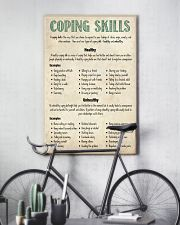 Social Worker Coping Skills 11x17 Poster lifestyle-poster-7