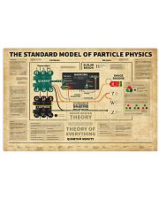 Science The Standard Model Of Particle Physics 17x11 Poster front