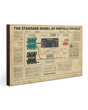 Science The Standard Model Of Particle Physics 30x20 Gallery Wrapped Canvas Prints thumbnail