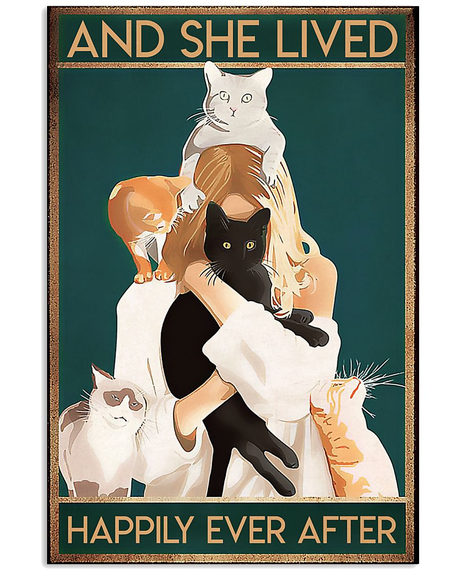 Veterinarian And She Lived Happily Ever After 11x17 Poster