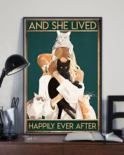 Veterinarian And She Lived Happily Ever After 11x17 Poster lifestyle-poster-2