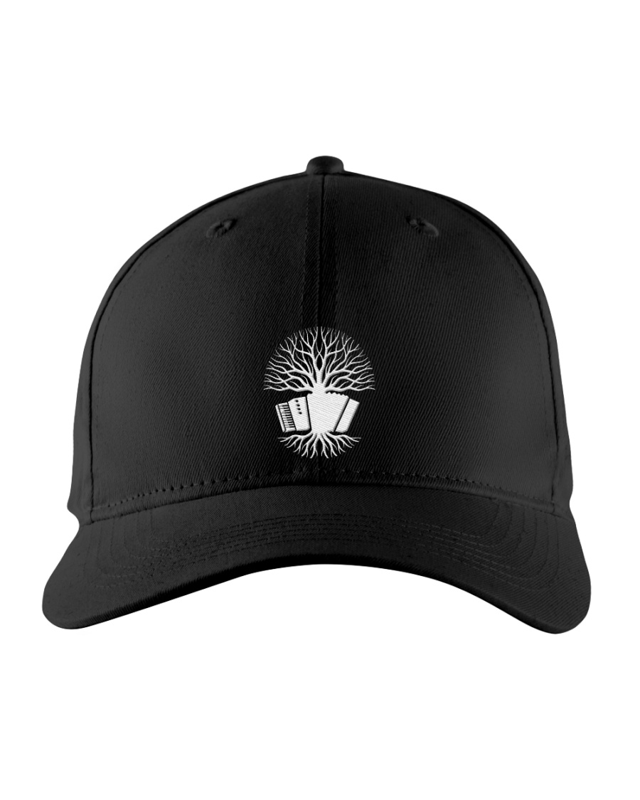 Accordion Tree  Embroidered Hat