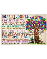 Teacher Dear Students 17x11 Poster front