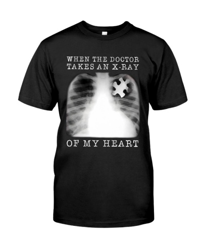 Autism Awareness Doctor Takes An X-ray Of My Heart