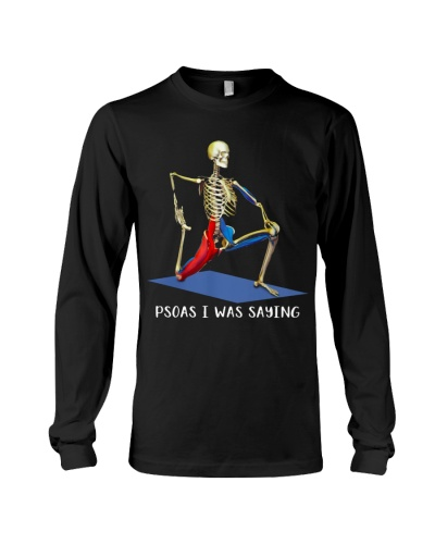 Physical Therapist Psoas I Was Saying