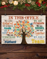 Occupational Therapist We Are A Team 17x11 Poster aos-poster-landscape-17x11-lifestyle-27