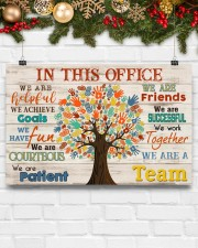 Occupational Therapist We Are A Team 17x11 Poster aos-poster-landscape-17x11-lifestyle-28