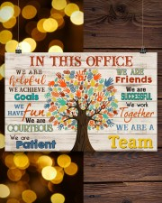 Occupational Therapist We Are A Team 17x11 Poster aos-poster-landscape-17x11-lifestyle-29