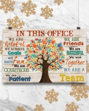 Occupational Therapist We Are A Team 17x11 Poster aos-poster-landscape-17x11-lifestyle-30