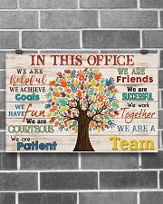 Occupational Therapist We Are A Team 17x11 Poster poster-landscape-17x11-lifestyle-18