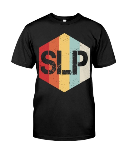 Speech Language Pathologist Retro SLP