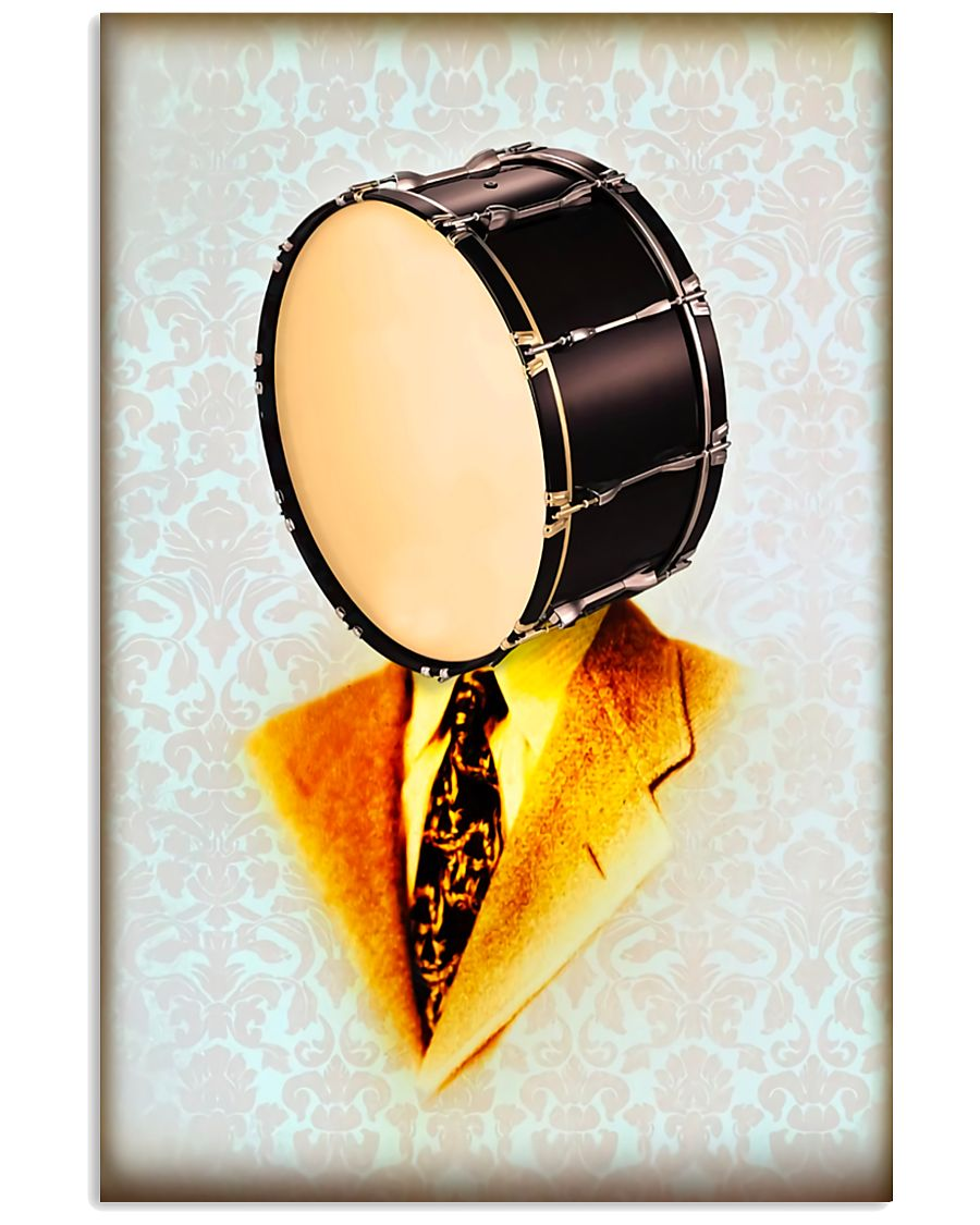 Drummer Gift Snare Drum Man 11x17 Poster