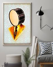 Drummer Gift Snare Drum Man 11x17 Poster lifestyle-poster-1