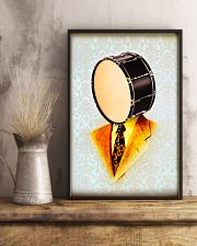 Drummer Gift Snare Drum Man 11x17 Poster lifestyle-poster-3