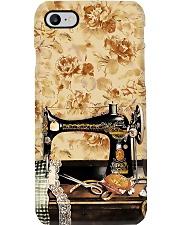 Vintage Daisy Sewing Machine Phone Case i-phone-7-case