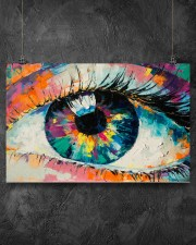 Optometrist Watercolor Eye 17x11 Poster aos-poster-landscape-17x11-lifestyle-12