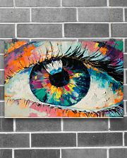 Optometrist Watercolor Eye 17x11 Poster poster-landscape-17x11-lifestyle-18
