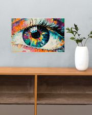 Optometrist Watercolor Eye 17x11 Poster poster-landscape-17x11-lifestyle-24
